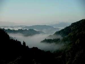 やきもち家から見れる雲海(朝6:00頃)
