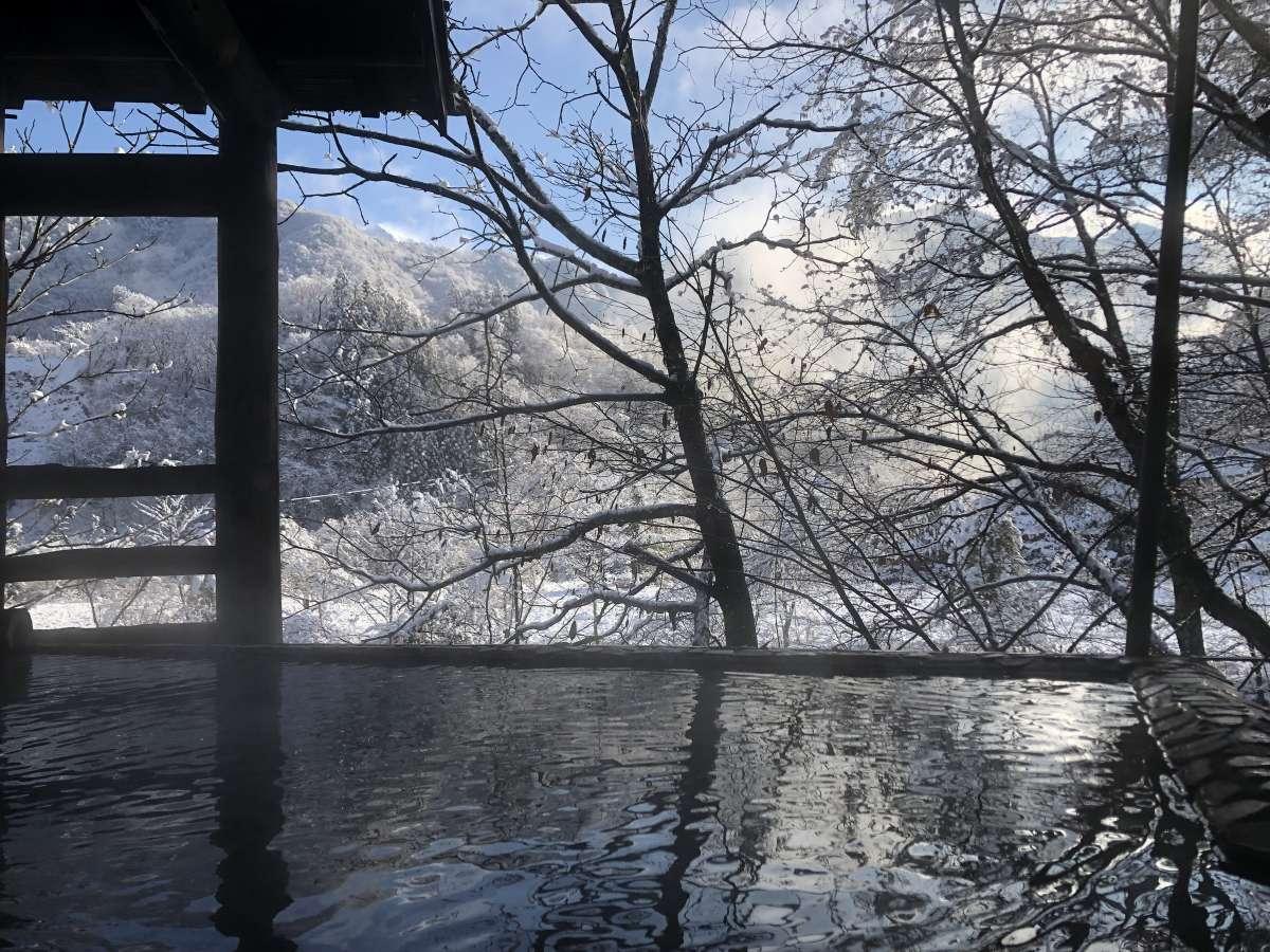 岩共同露天・冬