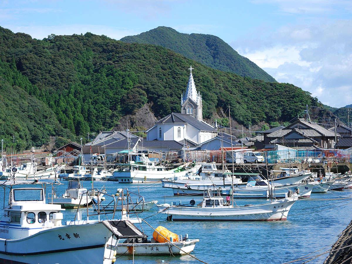 *【周辺】崎津教会へは車で約3分!