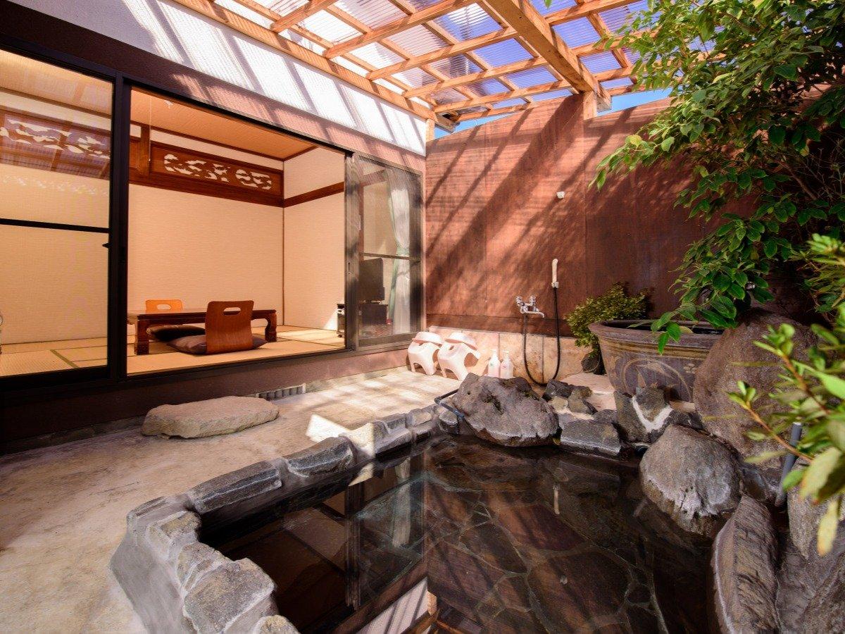 ●木蓮 半露天風呂