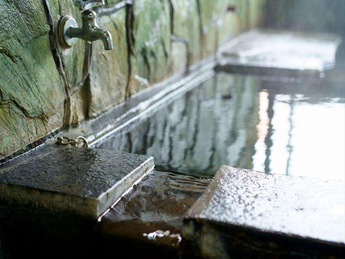 ●[貸切風呂]岩風呂2階