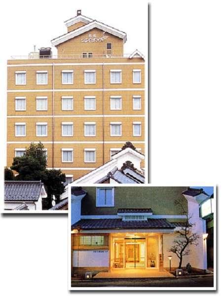 当館は創業1682年の歴史のある旅籠。平成2年全館新築オープン。
