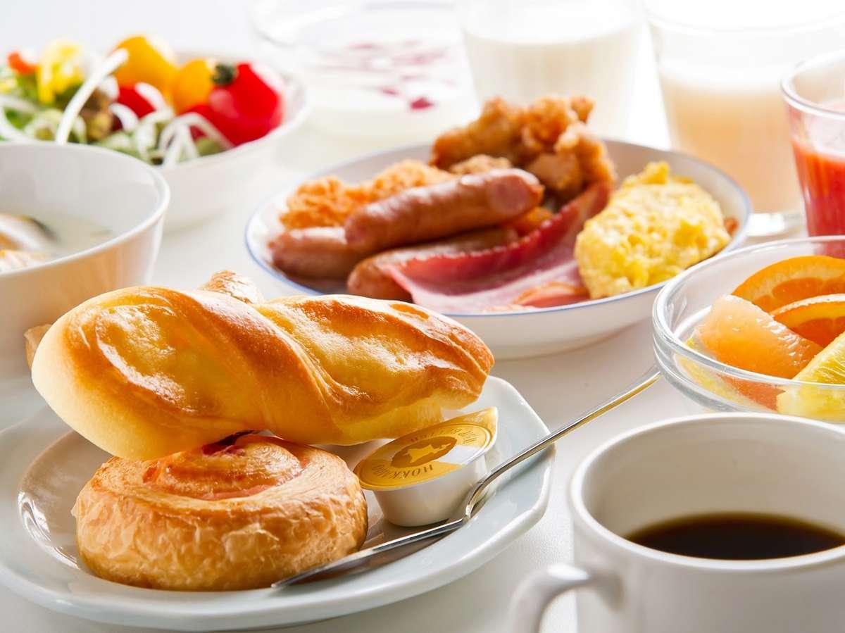 【2階/朝食】朝は洋食派という方や海鮮が苦手という方にも。