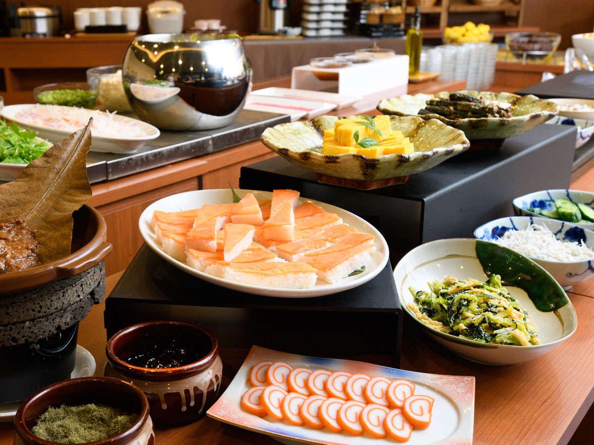 朝食バイキング~富山コーナー~