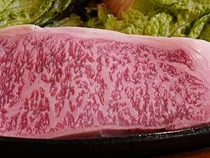 地元のお肉屋さんイチオシのお肉を使った「和牛ステーキプラン」は当館一番人気!鉄板でお出しします♪