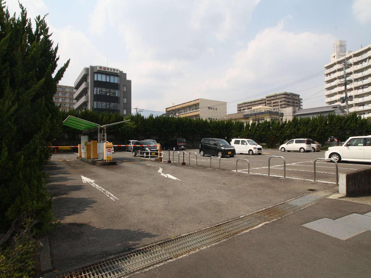 ◆駐車場 宿泊者は無料でご利用になれます。