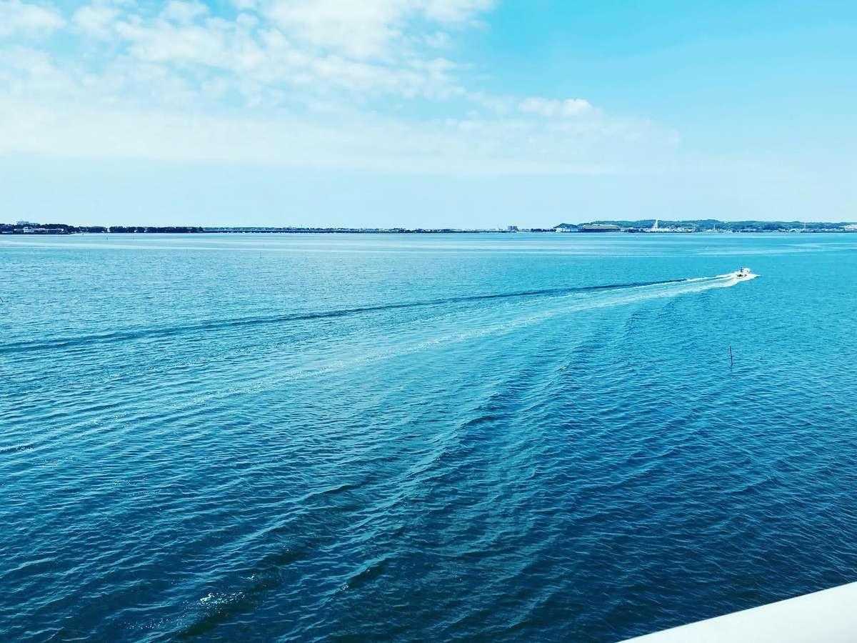 浜名湖大橋からの眺め