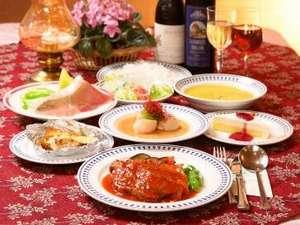日替わりの欧風コース料理です