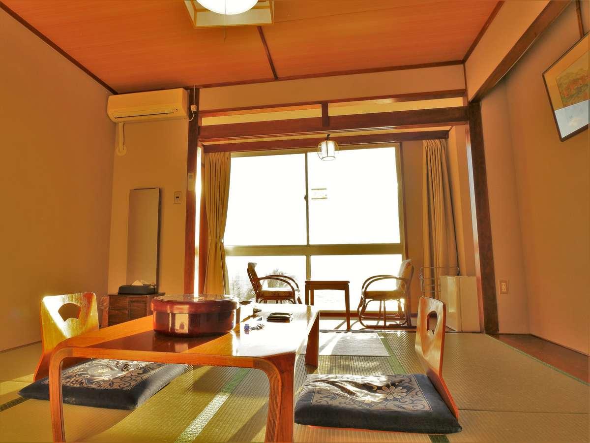 【本館】眺めだけ訳あり8~10畳 海側和室 部屋例。