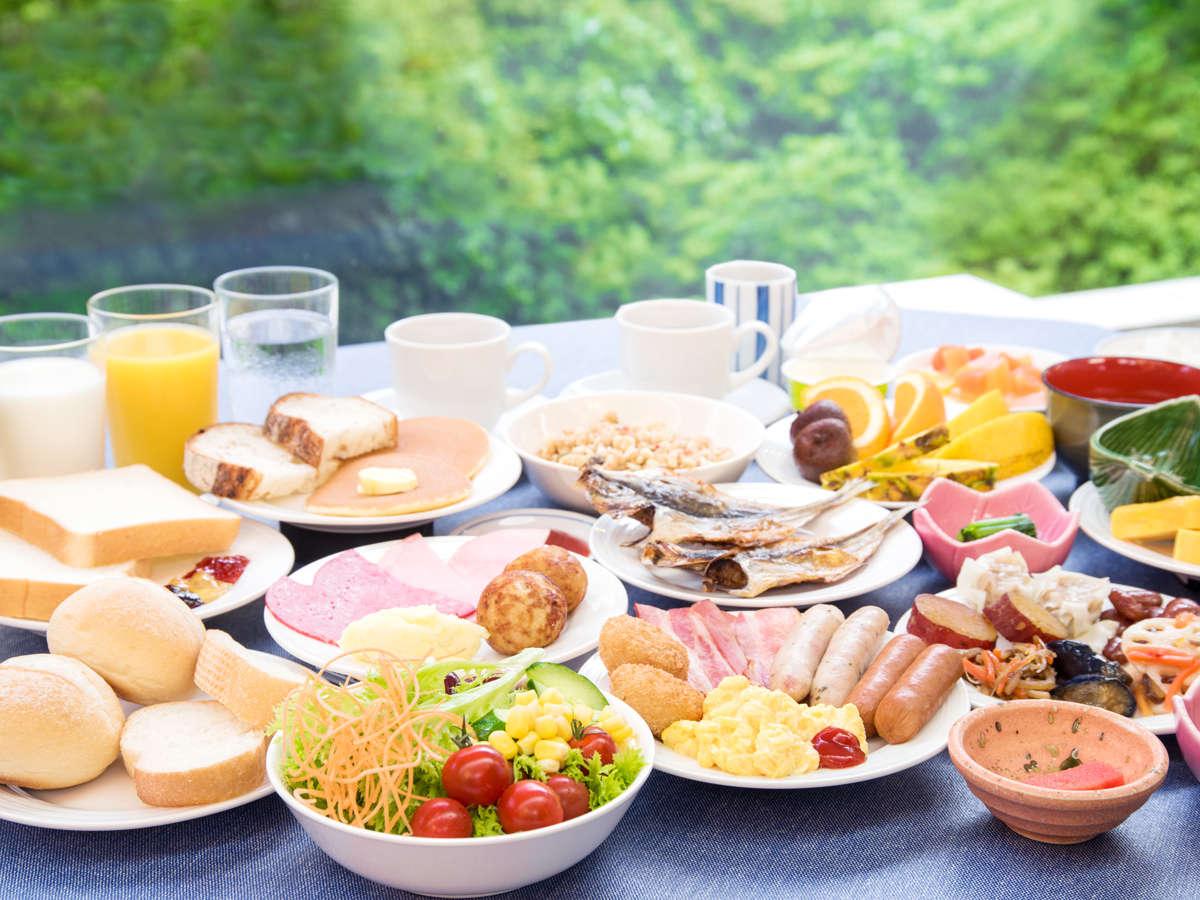 *40品目以上の朝食ブッフェ・食べログTOP5000ランクインの人気レストラン姉妹店の朝食をどうぞ♪