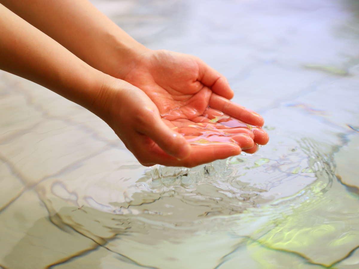 【天然温泉】自家源泉の鉄鉱泉。ゆっくり浸かって体を癒してください