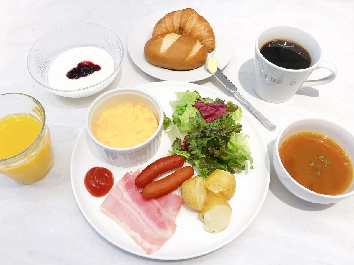 <朝食イメージ>ヘルシーでバランスの取れた洋食セットメニューをどうぞ