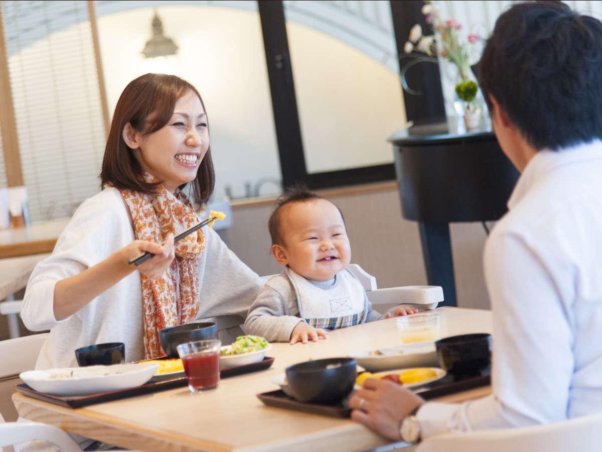 「朝ごはん」はレストランご来店と同時に鉄板でつくるアツアツをどうぞ♪