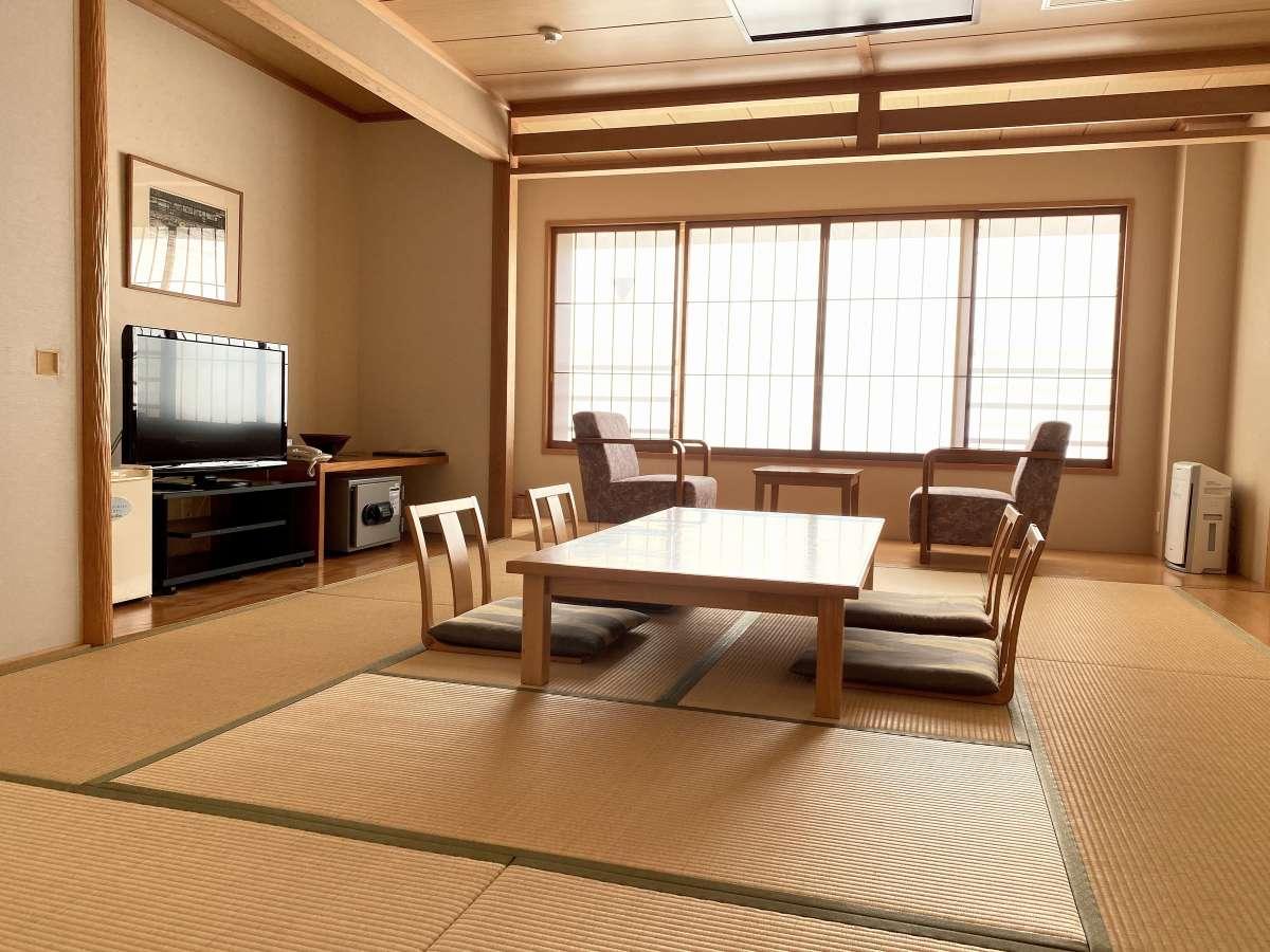矢代湖を望む和室(イメージ)