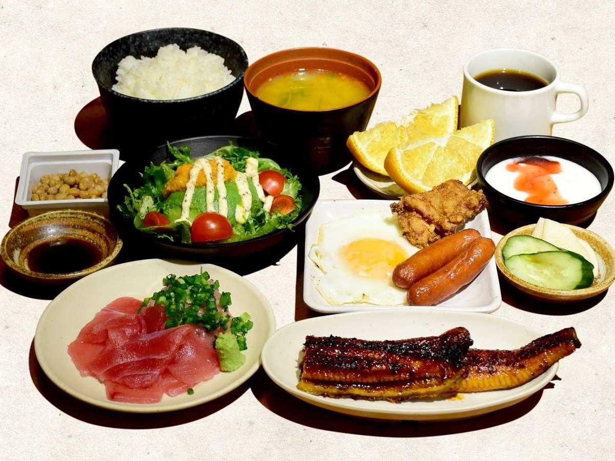「てけてけ」和朝食(AM7:00~10:00 L.O.9:30)