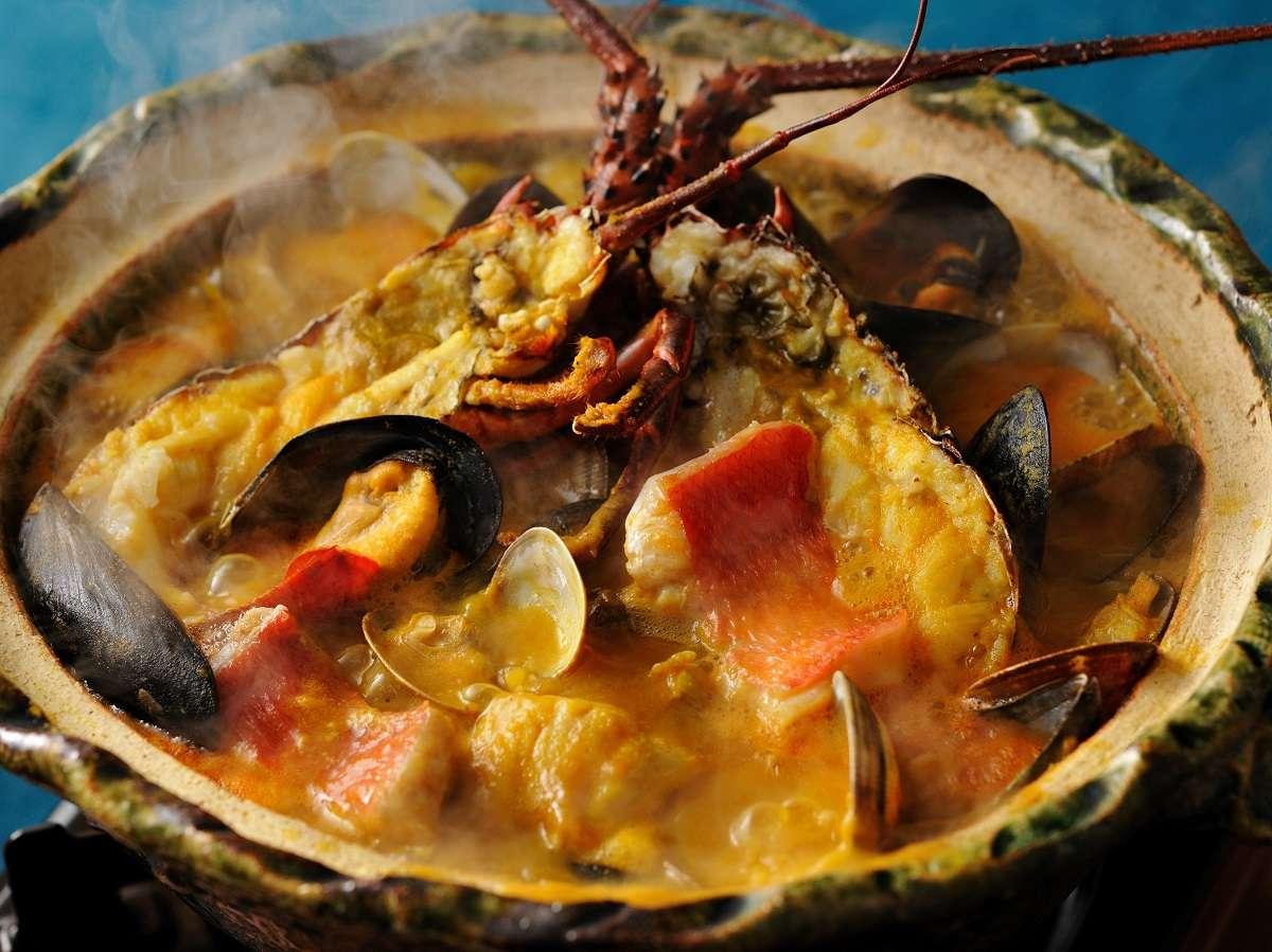 【特別会席】魚をじっくり炊き込んで丁寧に裏ごししたブイヤベース