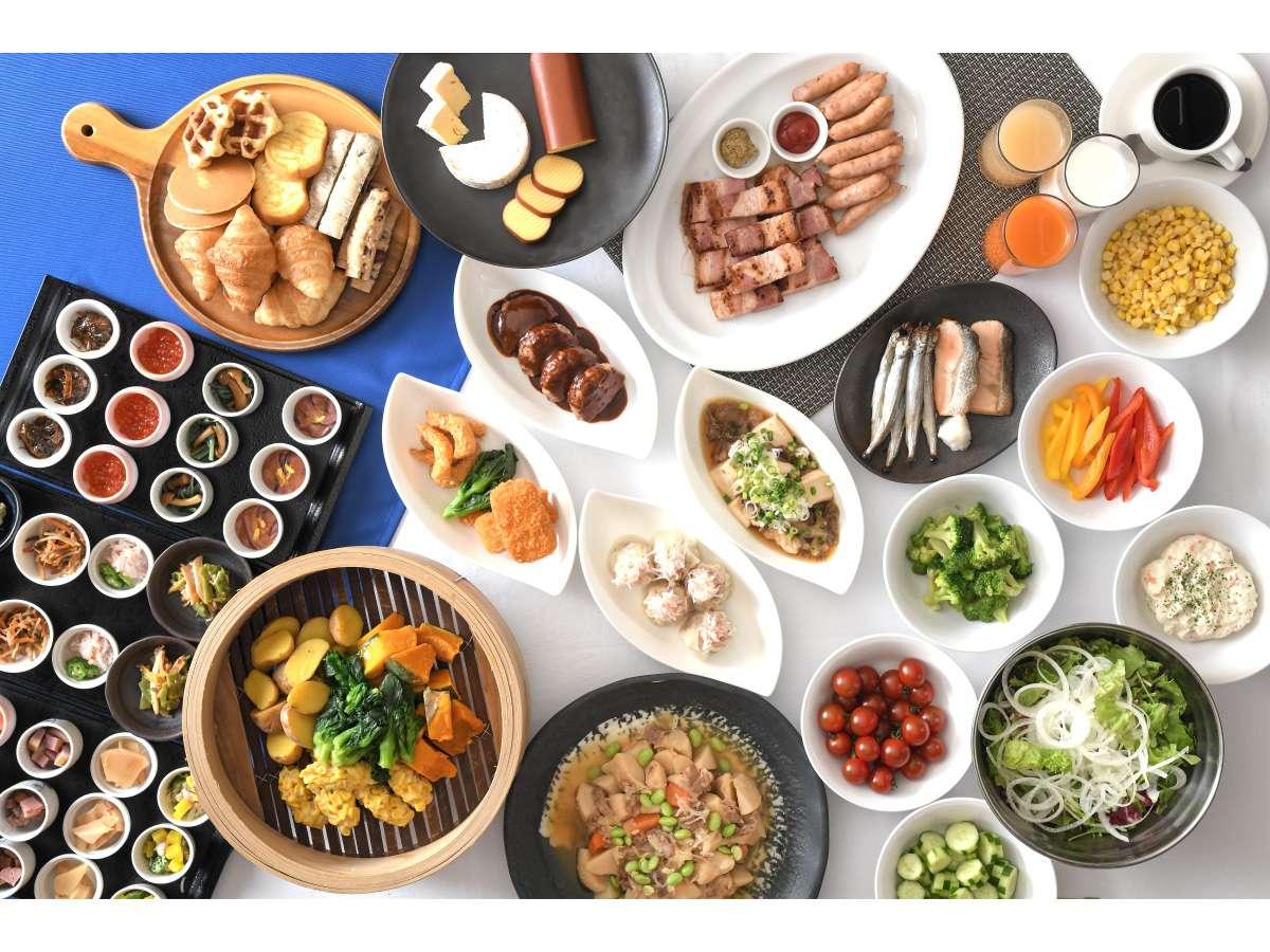 朝食メニューリニューアル!より北海道を感じられるメニューをご用意しております。