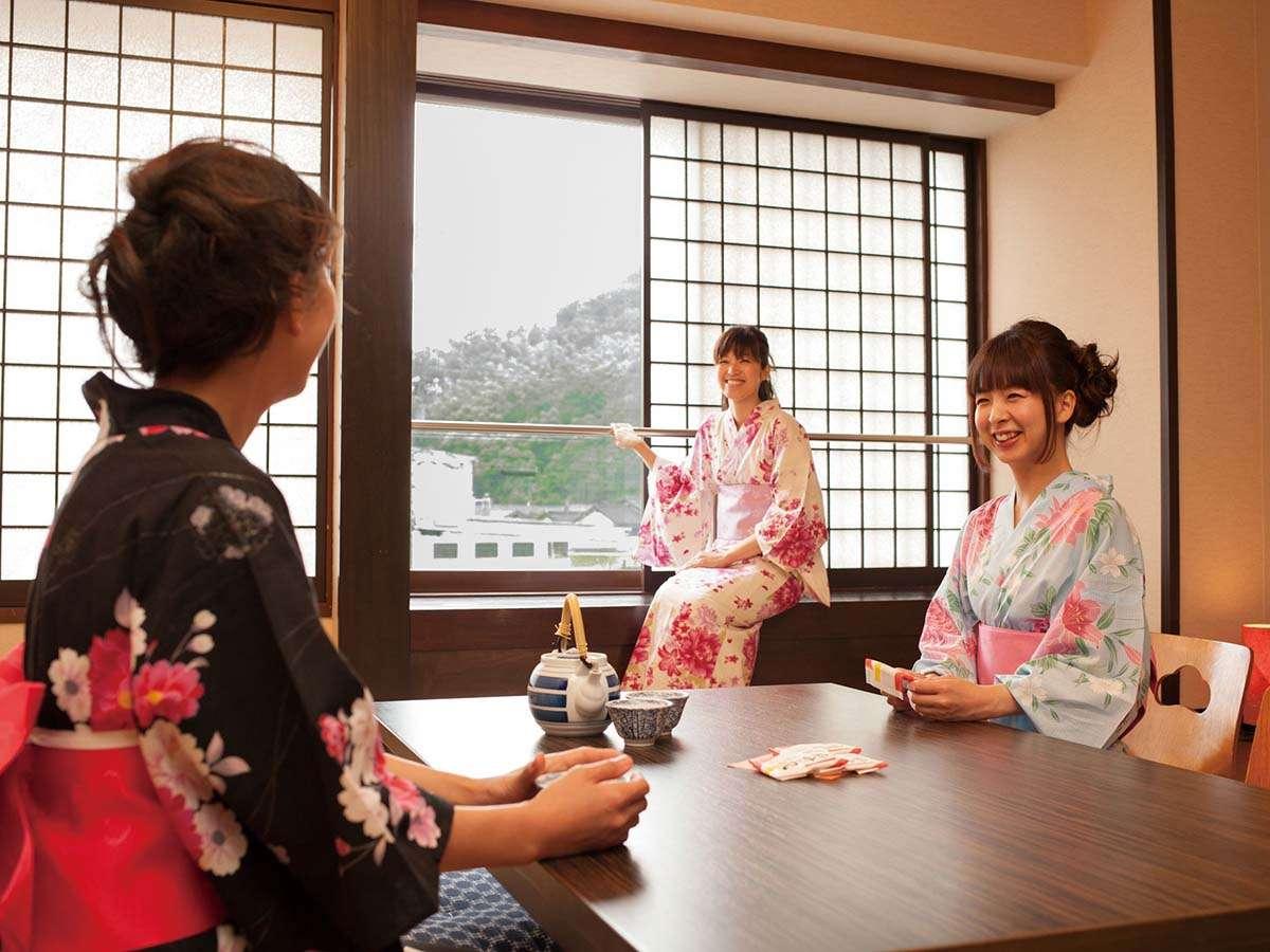 【和室12畳禁煙】女性に人気のお部屋タイプです♪