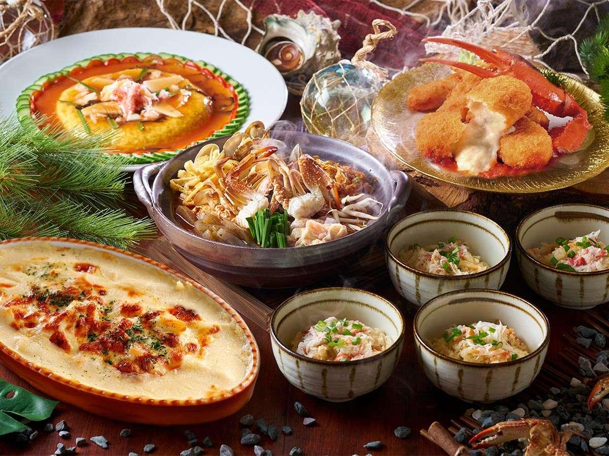 【12~2月】冬の料理フェア『かに尽くしの料理フェア♪』※イメージ