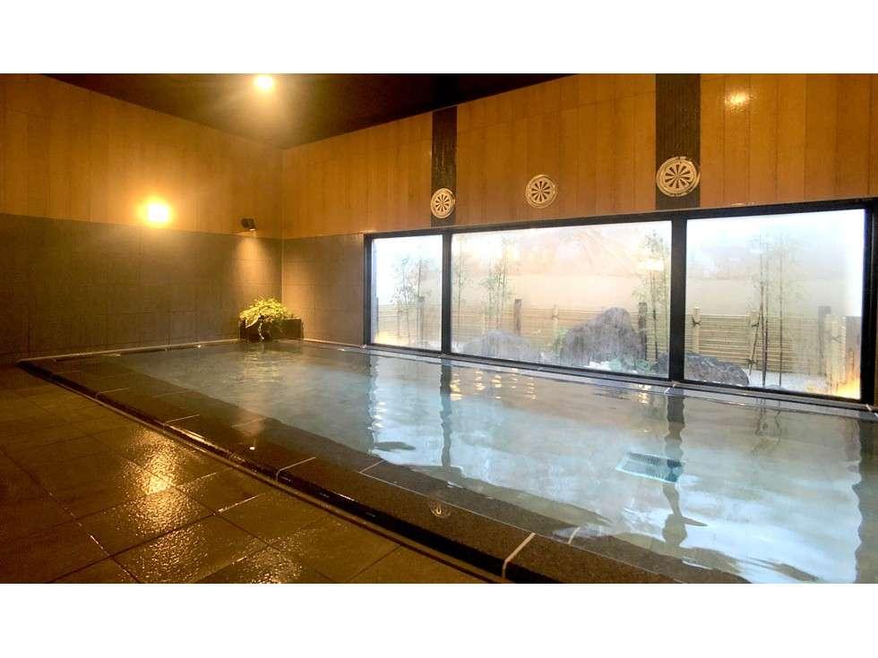 【人工温泉大浴場「旅人の湯」】ご利用時間⇒15:00~2:00,5:00~10:00