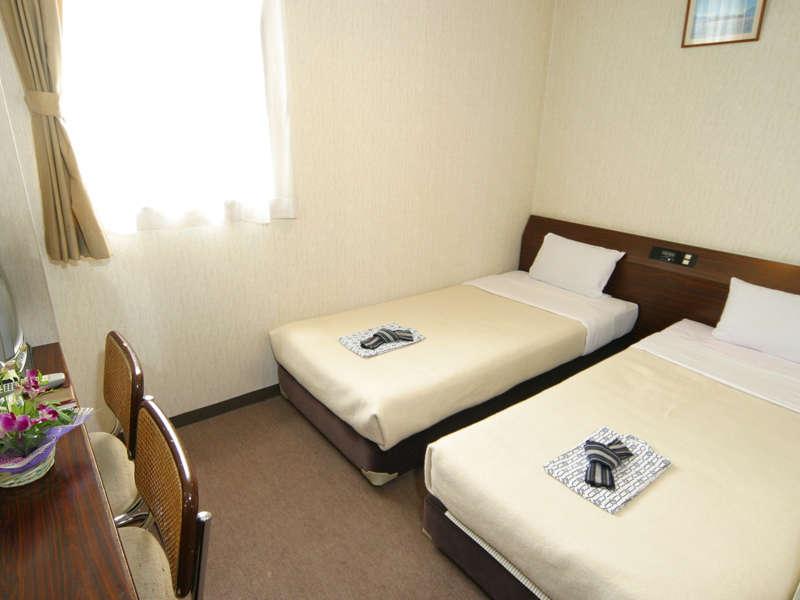 *客室例:ツイン/2名様でご利用いただけるお部屋です。