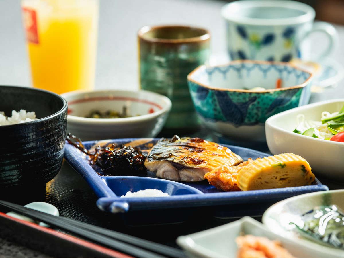 ■ご朝食例■ 和定食でのご提供となります。