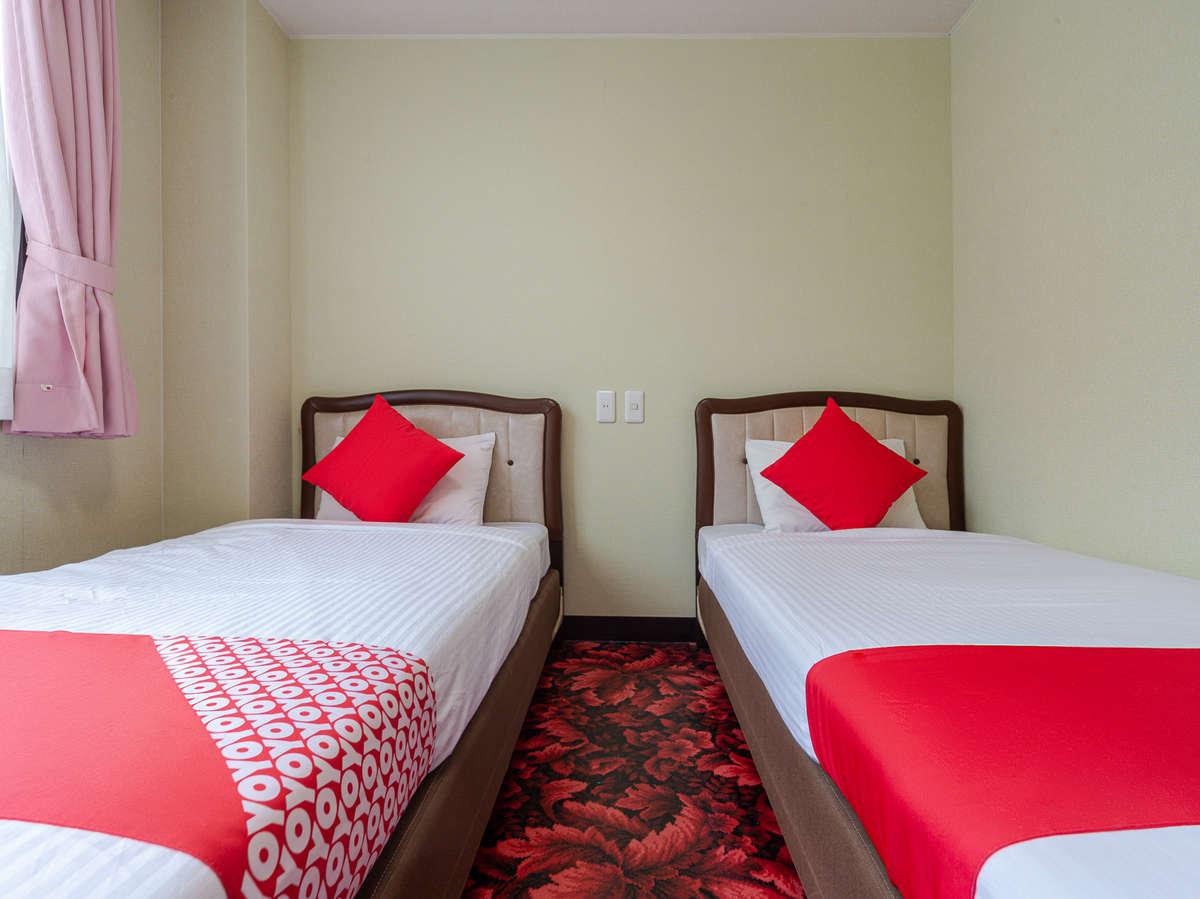 お部屋は、1名様から複数名様までゆったり寛げる空間で清潔感満載です。