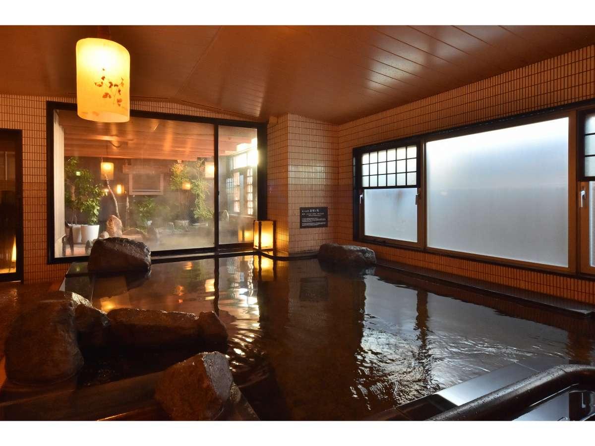 【植物性モール温泉】朝の10時まで夜通しご利用頂けます。