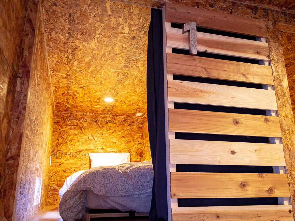 ・【HACO】ドミトリー用ベッドルームが上下8室ございます
