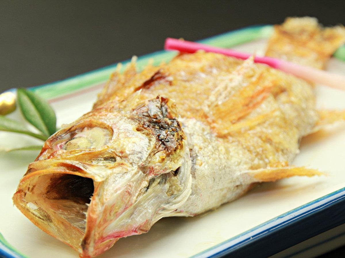 ◆【ご夕食一例・単品】のどぐろ。「幻の高級魚」は、身がやわらかく、贅沢な旨味が味わえます♪