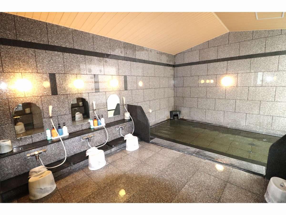 大浴場 /広々と足を伸ばしてお寛ぎいただける大浴場