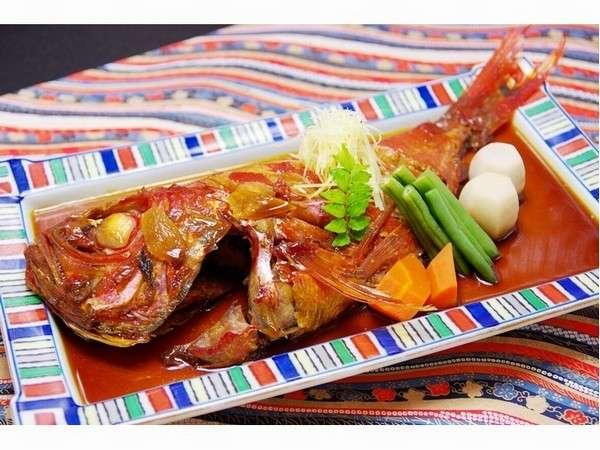 伊豆の名産金目鯛の煮付