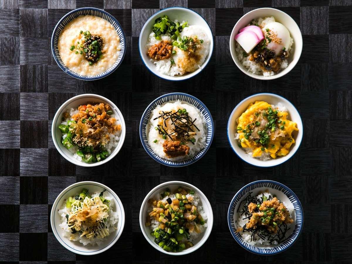 【信州かってめし】「かって」とは、惣菜をおかずや御飯にのせて食べる、という意味の信州の方言です。
