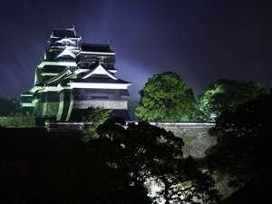 ■幻想的な熊本城