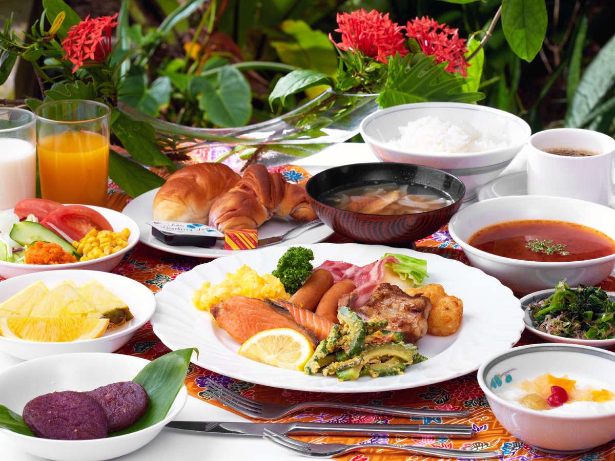 *【朝食/一例】メニュー豊富な和洋琉バイキングです♪