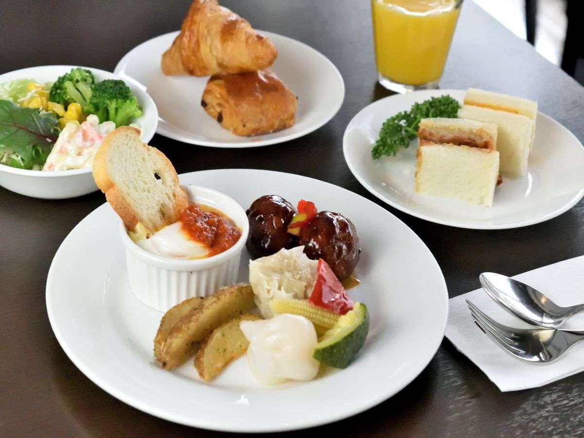 リニューアルされた朝食(洋食)