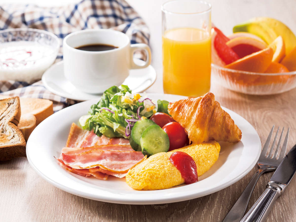 50種類以上の朝食バイキング☆【1F「ラ・ベランダ」】