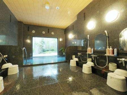 ラジウム人工温泉大浴場完備★利用時間15時~2時 5時~10時 ごゆっくりお寛ぎください♪