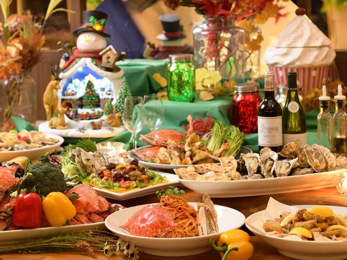 【和洋中バイキング】とにかくいろいろ食べたいならコチラ!