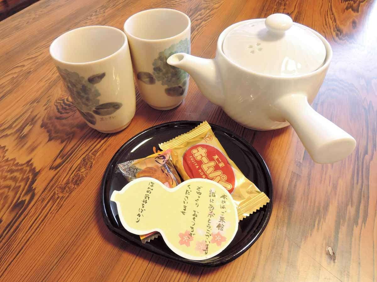 *【その他】お茶菓子でほっと一息♪