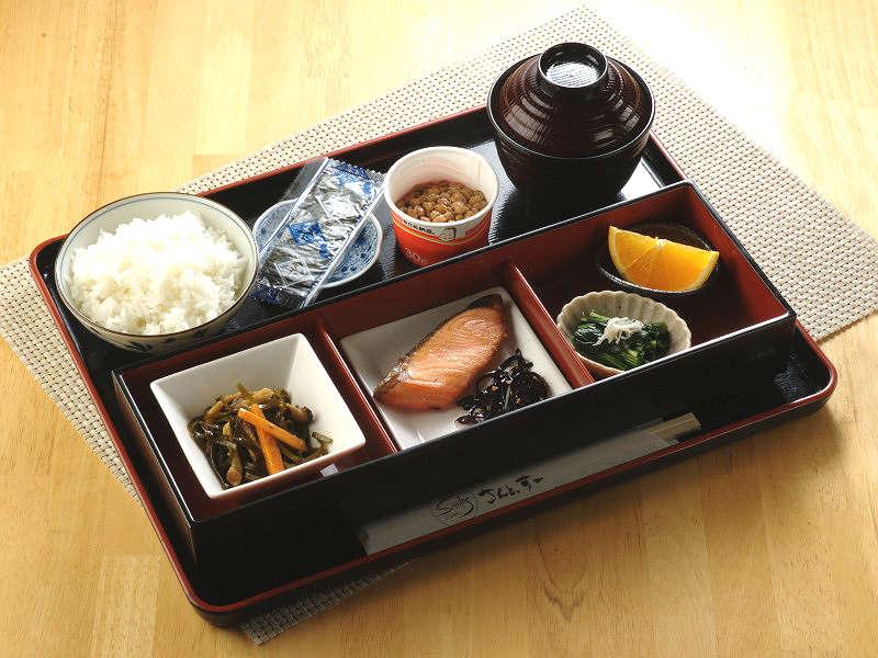 【朝食】手作りを主とした和食プレート♪