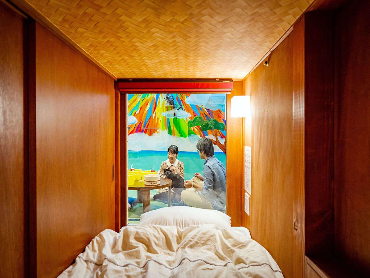 ねこ旅籠・寝床です