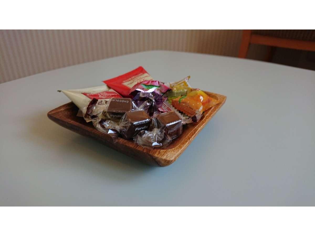 テレワーク専用ルーム(お茶菓子)