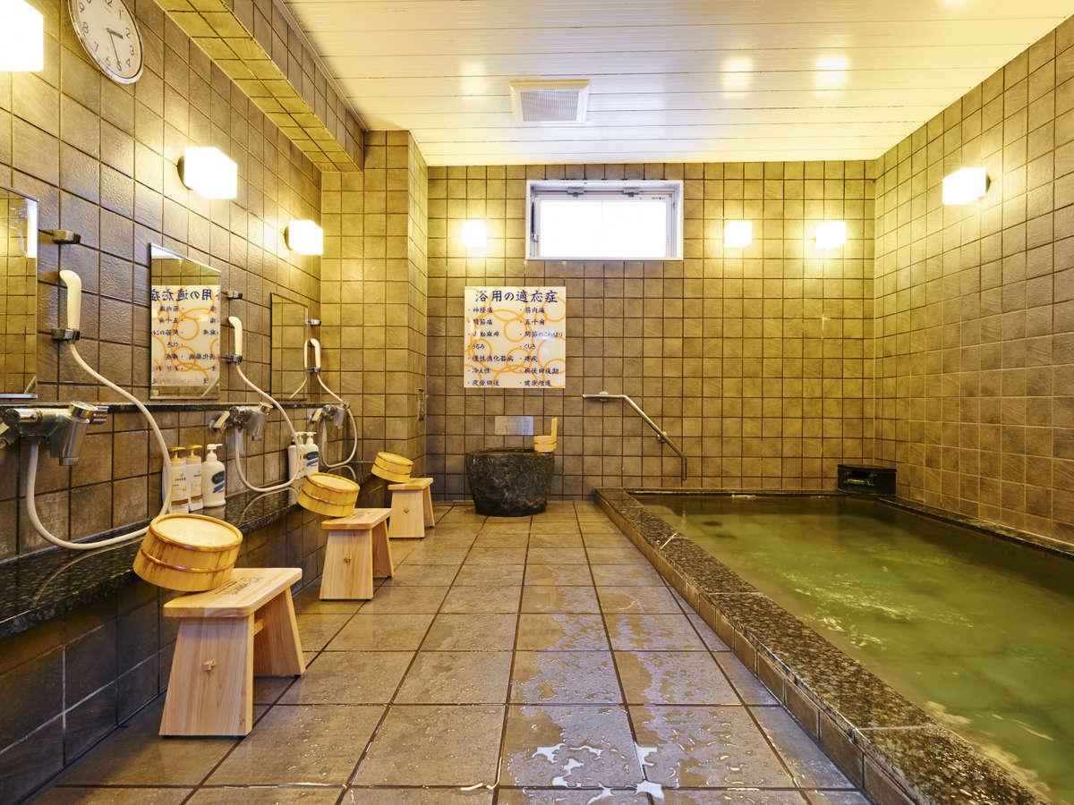 当館の宿泊者様限定です!天然温泉に入って身も心もリフレッシュ☆