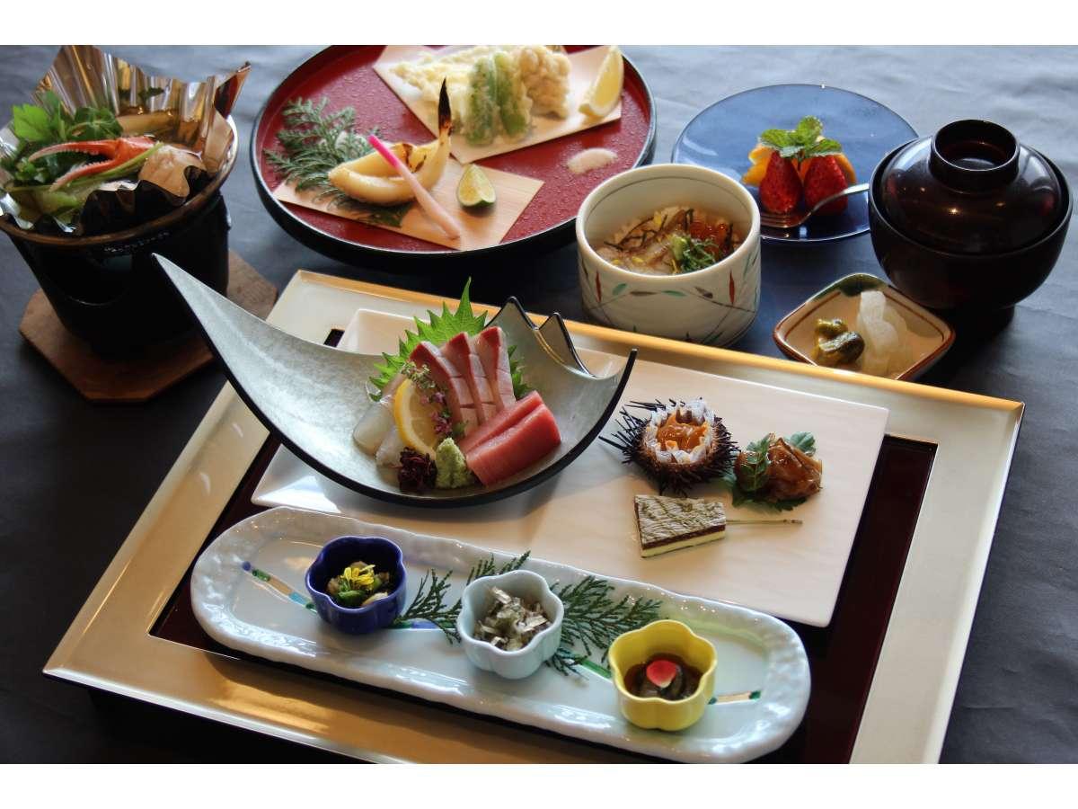 【会席コース】四季を感じる彩り豊かなお料理をどうぞ