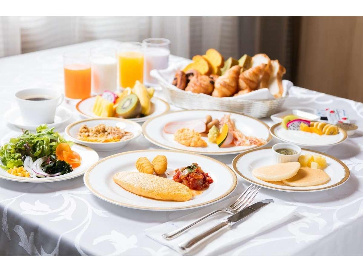★クチコミでも大好評♪人気の朝食ブッフェを是非お召し上がりください