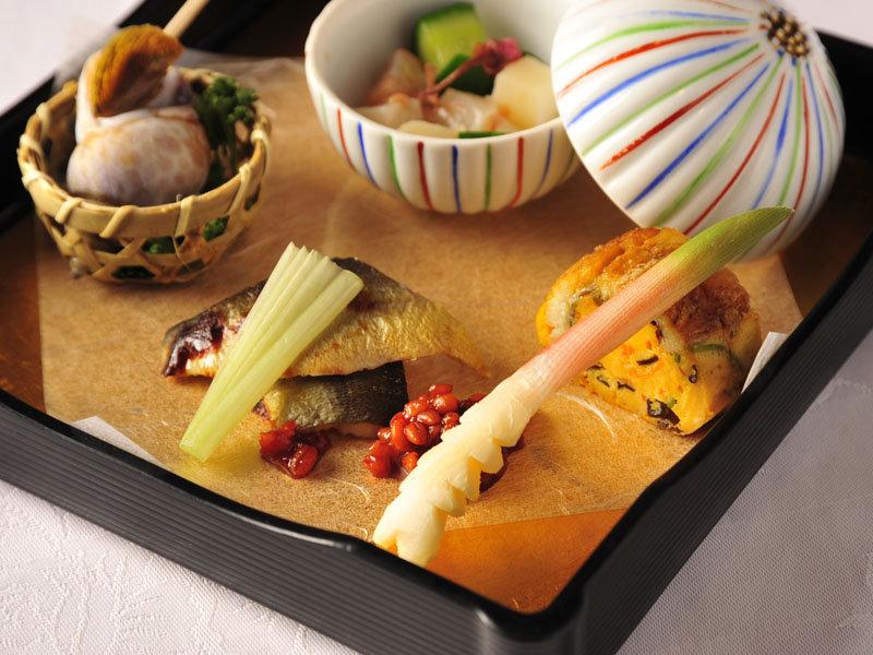 *夕食の前菜イメージ。見た目も鮮やかな前菜。※写真一例