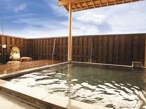 開放感満天の露天風呂