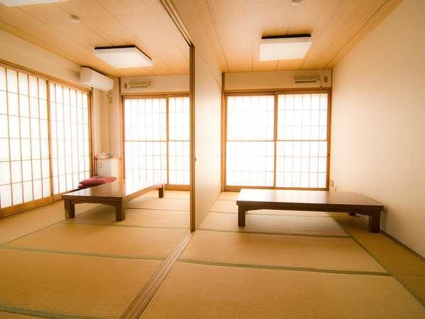 会議やミーティングにもご利用頂ける和室10畳スペース。
