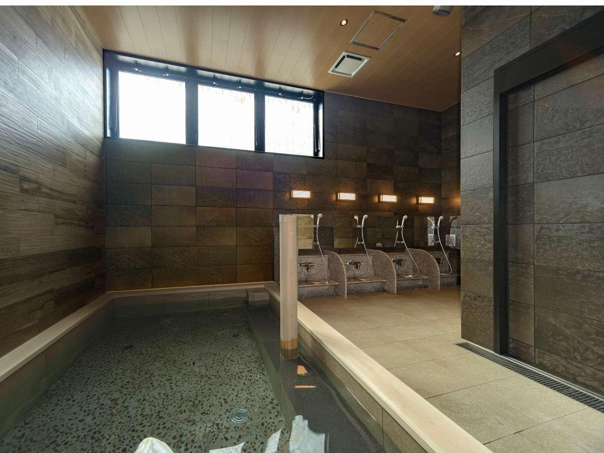 1階 女性大浴場人口温泉 準天然 光明石温泉